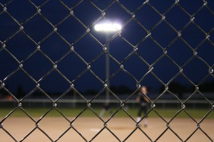 Our fence experts install chain link fences for baseball stadiums.
