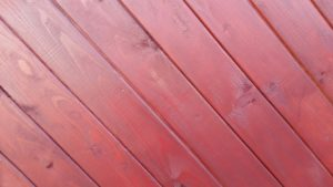 fence maintenance includes staining wood